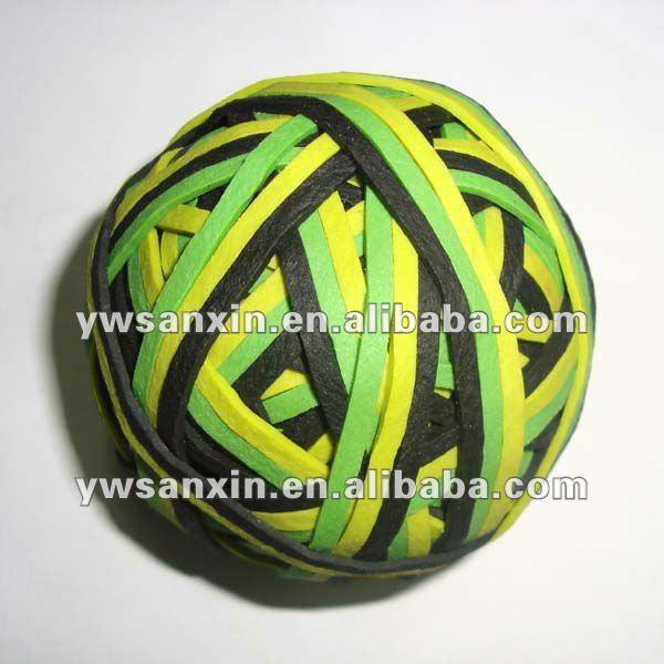 естественный цвет резинкой <span class=keywords><strong>мяч</strong></span> прочный и упругий/подгонять резинкой