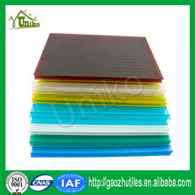 Bayer Markrolon uv coated fire proof anti-fog corrugated polycarbonate embossed sheet china manufactur