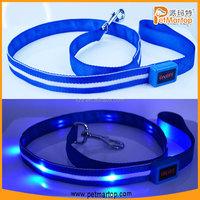 Original Nylon led dog leash TZ-PET6102 dog leash lock