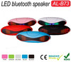2015 new design Home Theater Wireless Radio Bluetooth Led Rugby Mini Speaker ball for Smart Phones