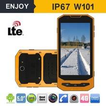 nfc gorilla 5 inch Screen Quad Core MTK6732 2G+16G GPS/NFC/BT/4G Rugged Phone Enjoy W101