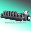 HT1200 8-Colors flexo sticker label offset printing machine