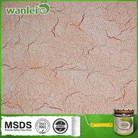 Special decorative interior silk plaster wall paint