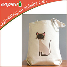 Promotional Cotton Canvas Tote Bag, Recycable Cotton Bag