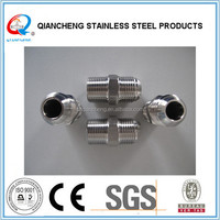 High quality stainless steel npt hydraulic adapter