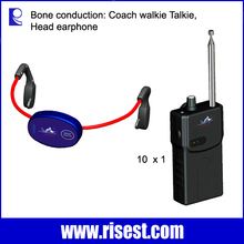 H-902 Bone Conduction Headsets, Swimming Coach Training, Underwater Communication System for Coach and Student