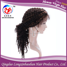 2015 Top Quality Afro Curly Long Wig Ponytail, Hot Selling Afro Curl Front Lace Wig With Qingdao Factory Price