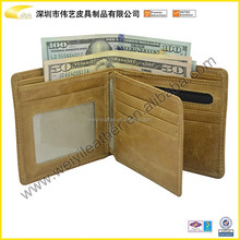 2016 Newest Fashion HOT Selling Genuine Leather Top Quality RFID Blocking travel wallet Custom Leather Wallet Cheap RFID Wallet