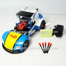 iS625 - Popular model! remote control stunt missile launching car with real sound