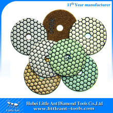 One week Delivery Shipment Complete a Set of Dry Hand Granite Polishing Pads Flexible