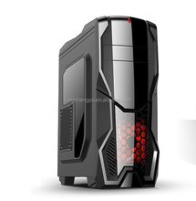 Factory wholesale best design atx gaming computer case with SD card reader/desktop atx computer case/gaming computer