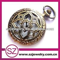 Foreign trade openwork necklace pendant repeater pocket watch for sale