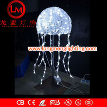 ocean jellyfish 3d motif lights,high quality decoration lights,CE,ROSH Approve