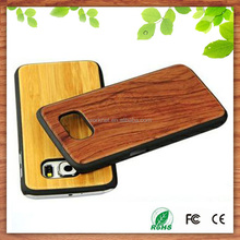 China supplier for wooden samsung galaxy s6 case,novel design for samsung galaxy s6 wood case