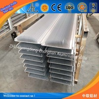 6000 Series heat sink extrusion manufacturer / OEM heatsink aluminium extruded profile / led circular heat sink