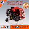 Long working life 25.6cc Mitsubishi brush cutter/ mitsubishi original engine