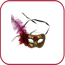 plastic elegant sexy eye mask feather mask party mask PGAC-0862