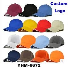 OEM Promotional 6 Panel Custom Sports Baseball Cap in good quality