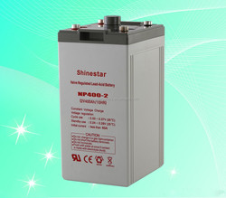 Chinese Manufacturer 2V 400Ah rechargeable battery for UPS NP400-2 With factory direct price