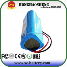 1s2p 3.7V 6000mAh Lithium Battery samplse free