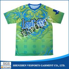Custom sublimated coed softball shirt