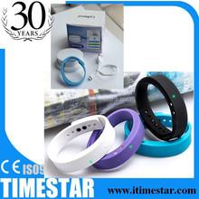 Wireless bluetooth bracelet watch hands free & music player Sleep Monitoring Pedometer for iphone bluetooth bracelet