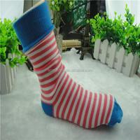 custom design cotton hot child sex girls tube sock
