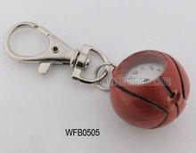 Watch with keychain, basketball