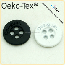 white and black metal buttons for jactket