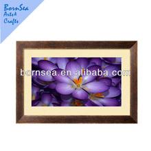 Purple flower Framed Giclee Print art
