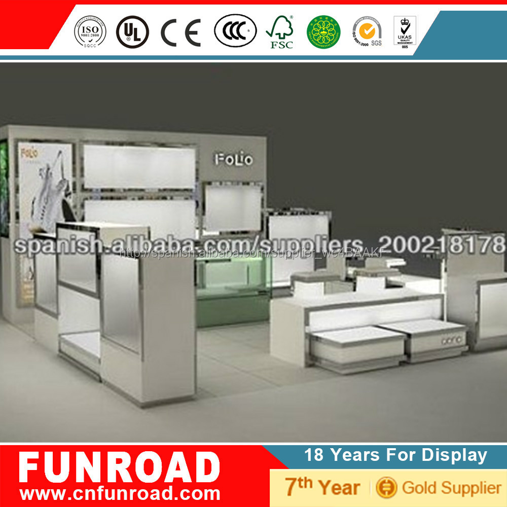 Popular dise o de mostrador exhibidor para zapateria mdf for Diseno de interiores zapaterias