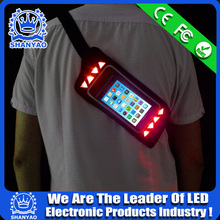 2015 Hot Selling LED Reflective Sports Waist Pack