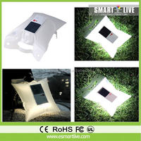Waha customized inflatable solar lamp for decoration /inflatable led