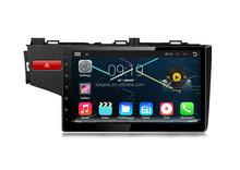 New Coming Android4.4 Quad-core 10.1 inch car dvd player for Fit 2014 with RK3188,16GB Nand Flash,1024 * 600 pixel