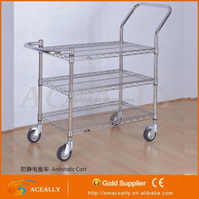 chrome modular wire shelving for home use