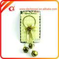 descuento 2014 de oro de la galjanoplastia de navidad coronas de flores para la decoración del partido