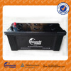 Maintenance free sealed battery 12volt 150ah auto car battery high capacity with Great CCA