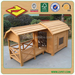 DXDH006 High Quality Wooden Lowes Dog Kennels And Runs