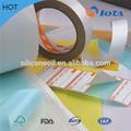 papeles glassine fabricantes de hojas de paquetes en rollo de celofán de silicio recubierto de papier transparente