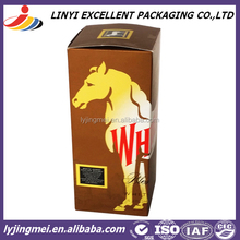 OEM design wine paper packaging box