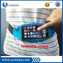 New product Waterproof running waist bag for iPhone