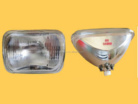 Sealed Beam 6052 12V 7' 'Square Headlights