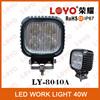 Hot Sale led work light 12v, 40w led tuning light led work driving light, car led light
