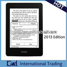 Amazon All-New Kindle Paperwhite WiFi 4GB 2013 Edition without ads Brand New e-reader Wholesales Electronic Books reader Kindle