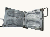 Most Classic Men Rubber Shoe Sole Mould Made of Steel Used for Rubber Vulcanizing Press Machine