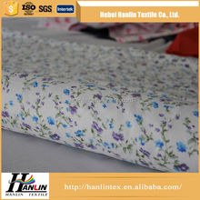 Cheap Wholesale 100% Cotton Fabric/high quality dyed 100% cotton flannel fabric for sheeting