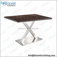 Marble base dining table, metal base dining table, modern table bases pedestal