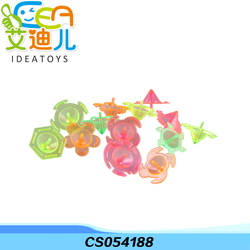 Manufacturers wholesale party supply colorful mini plastic spinning top