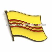 Vietnam South Single flag label pin-16mm