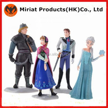 Hot new collectibles plastic frozen figures toy